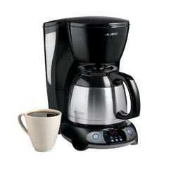 Mr Coffee Coffee Maker Without Carafe : Mr. Coffee Coffee Maker 8 Cup Programmable Thermal Carafe Black:TFTX85