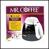 Mr. Coffee Decanter 10 To 12 Cups White Carafe: ISD12
