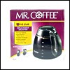 Mr. Coffee Decanter 12 Cups Black Carafe: ISD13