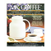 Mr. Coffee Decanter 8 Cups White Double Wall Insulation: CT80