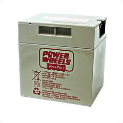 Power Wheels Genuine 12V Battery 00801-0638