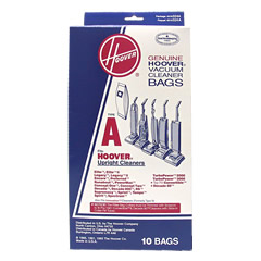 Hoover Type A Genuine Vacuum Bags For Hoover Upright 10Pk 4010324A