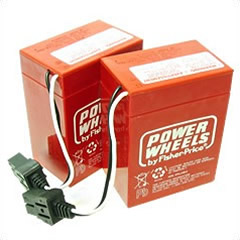 Power Wheels 12 Volt Battery By Fisher-Price 00801-0712-2