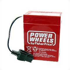 Power Wheels 12 Volt Battery By Fisher-Price 00801-0712