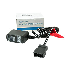 Power Wheels 6 Volt Blue Battery Charger 00801-1483
