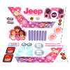 Power Wheels Dora And Friends Decal Sheet #3900-3169