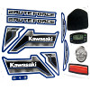 Power Wheels CDD20 Kawasaki Bruteforce Decal Sheet #3900-3619
