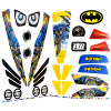 Power Wheels DMT54 Batman Decal Sheet #3900-4191