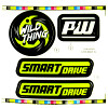Power Wheels FGF77 Wild Thing Decal Sheet #3900-5218