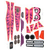 Power Wheels BCK89 Girls Dune Racer Decal Sheet #BCK89-0311