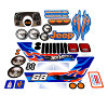 Power Wheels CBG61 Jeep Hot Wheels Decal Sheet #CBG61-0310A