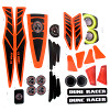 Power Wheels CDF93 Dune Racer Decal Sheet #CDF93-0311
