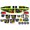 Power Wheels CDY12 Teenage Mutant Ninja Turtles Decal Sheet #CDY12-0310
