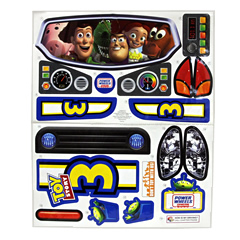 Power Wheels Toy Story 3 Decal Sheet V3298-0310