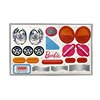 Power Wheels Barbie Volkswagen Decal Sheet W6209-0320