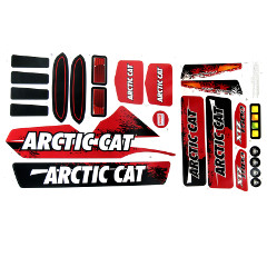 Power Wheels Artic Cat Decal Sheet W8675-0311