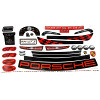 Power Wheels CDD15 Porsche GT3 Decal Sheet #3900-3931