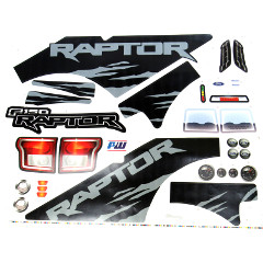 Power Wheels FJJ63 Ford F-150 Raptor Extreme Decal Sheet #3900-5521