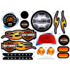 Power Wheels X6222 Lil Harley-Davidson Decal Sheet #X6222-0310