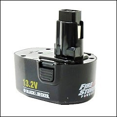 Black And Decker 13 2v Fs132 Replacement Battery