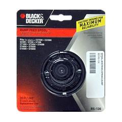 Black And Decker Rs 136 Bump Feed Spool