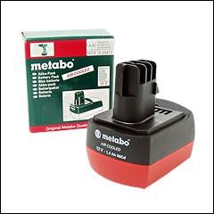 Metabo 12V 1.4Ah Battery: 625473000