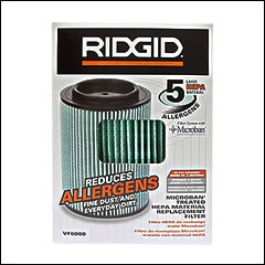 RIDGID VF6000 Filter