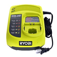 Ryobi 18V Battery Charger All One+ And Lithium-Ion Batteries:140501001